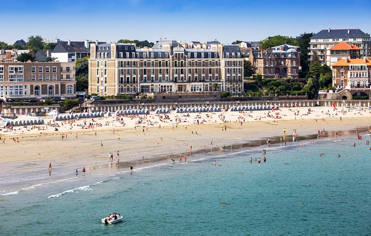 Dinard on the Brittany Coast