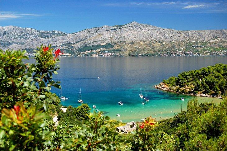 جزیره Brač، کرواسی