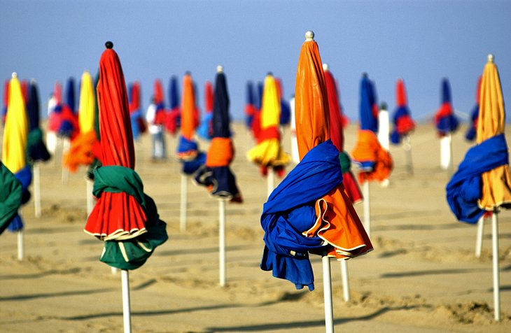 Deauville and Trouville, Normandy