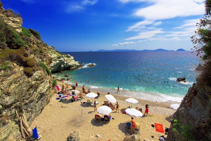 جزایر یونان Skopelos و Skiathos