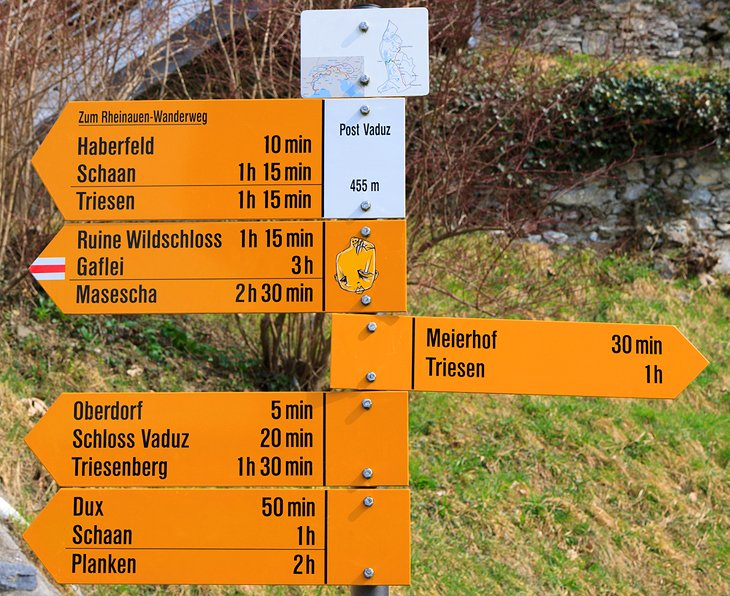 Hiking the Historical Eschnerberg Trail
