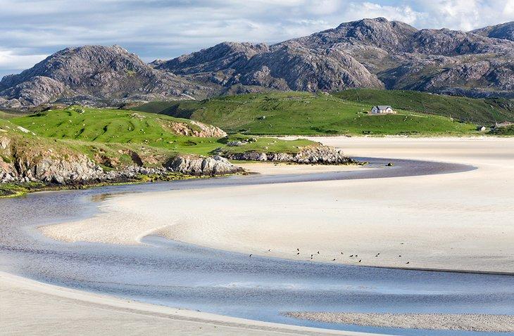 جزیره هپینگ در Hebrides اسکاتلند