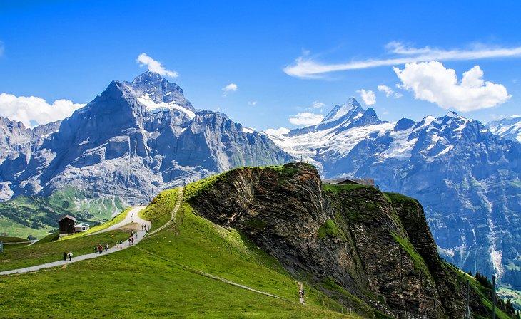 Jungfrau در آلپ سوئیس