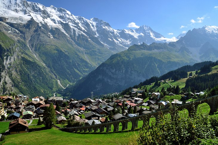 Mürren و Wengen، سوئیس