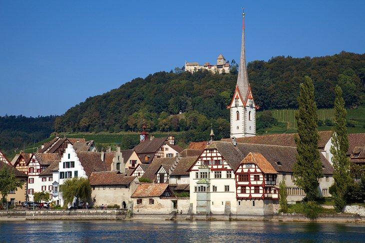 استین راین، سوئیس