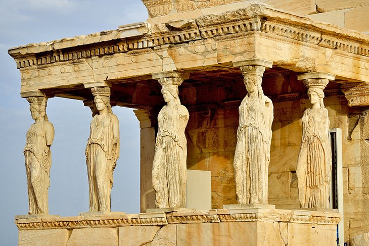 Porch of the Caryatids at the Erechtheion