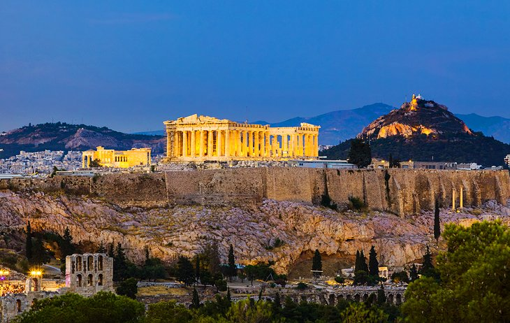 12 TopRated Tourist Attractions in Greece – Athens Tourist Attractions Map