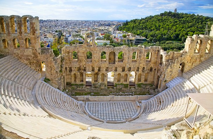Odeon of Herodes Atticus: A Second-Century Theater