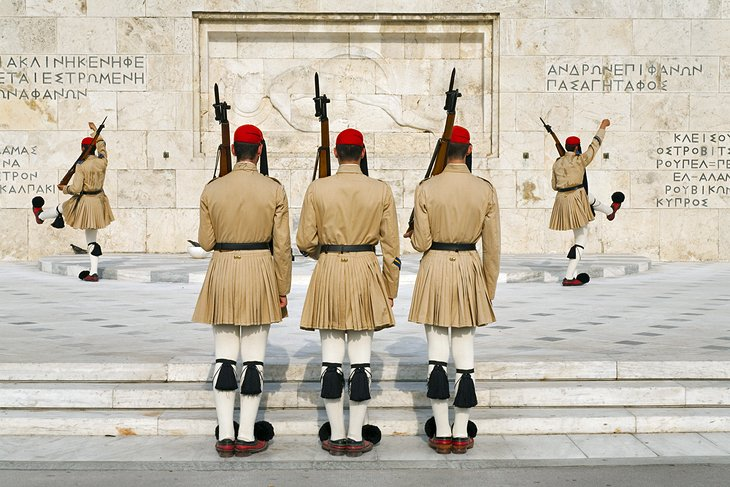 Changing of the Guard at Syntagma Square