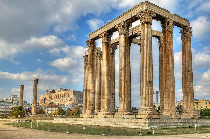 Olympieion: Temple of Olympian Zeus