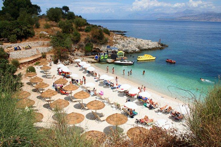 Corfu island road map atcorfu. Com.