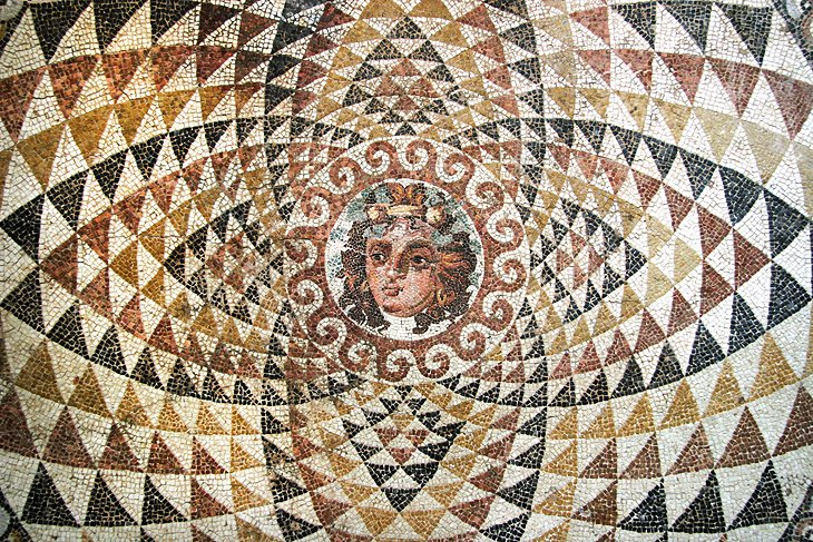 Mosaic Floor of a Roman Villa in Corinth