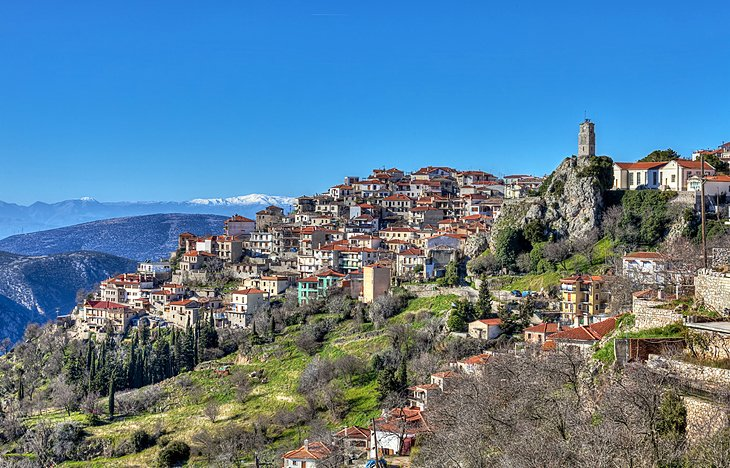 The Mountain Village of Arachova