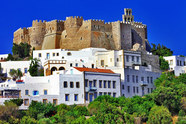 اماکن مقدس جزیره Patmos