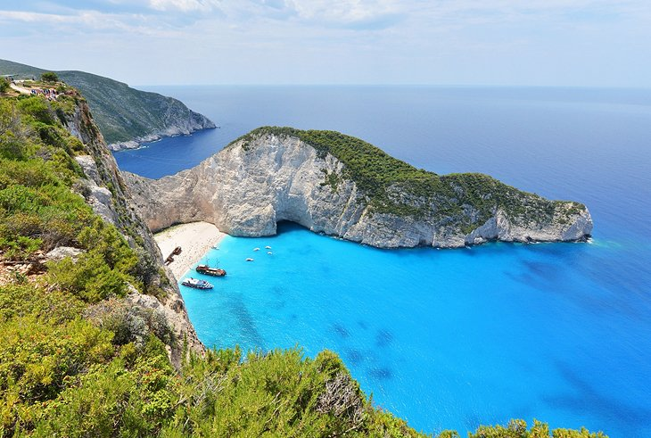 Shipwreck beach (Navagio beach)