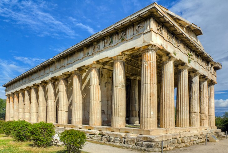 Temple of Hephaestus - Agora - Athens Attractions  PlanetWare