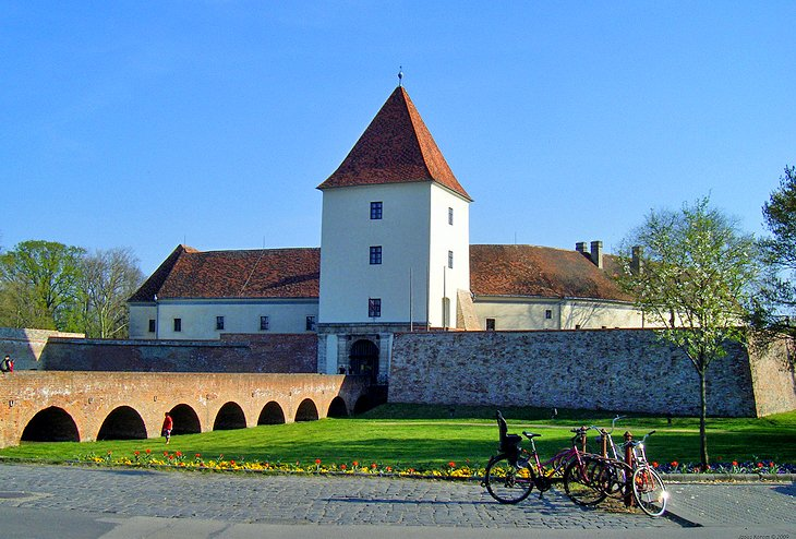 Nádasdy Castle and Museum in Sárvár