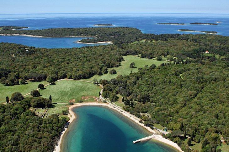 پارک ملی بریجونی کرواسی
