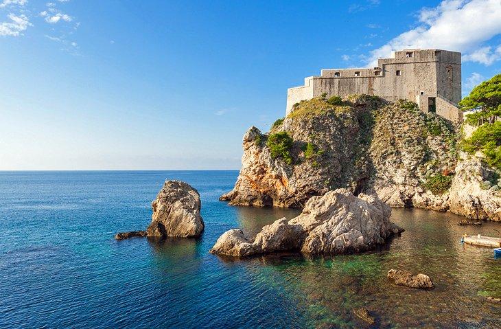 Gibraltar de Dubrovnik: Fuerte Lovrijenac
