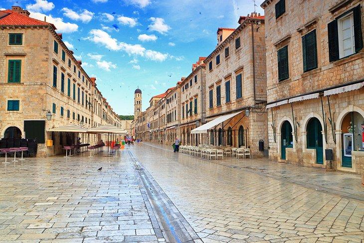 Stradun de Dubrovnik