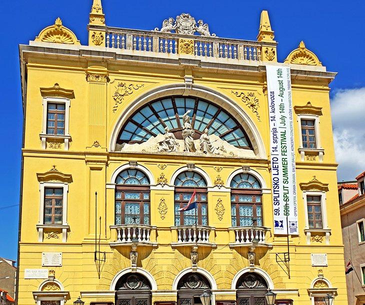 Teatro Nacional de Croacia en Split