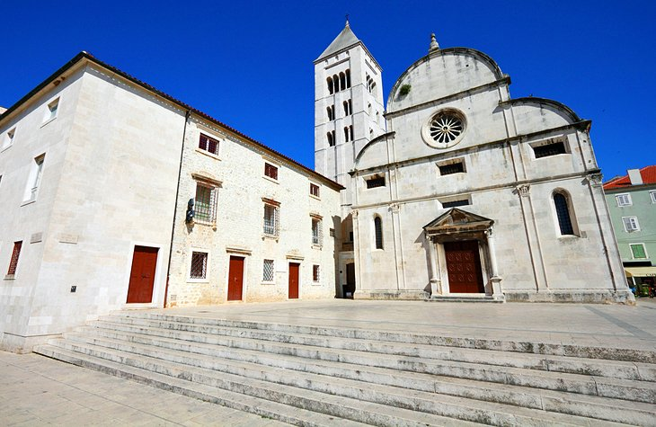 The Church of St. Mary and the Gold and Silver of Zadar