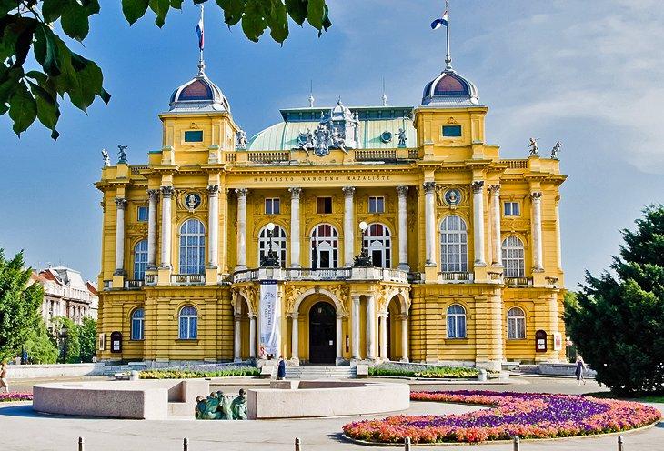 El Teatro Nacional de Croacia