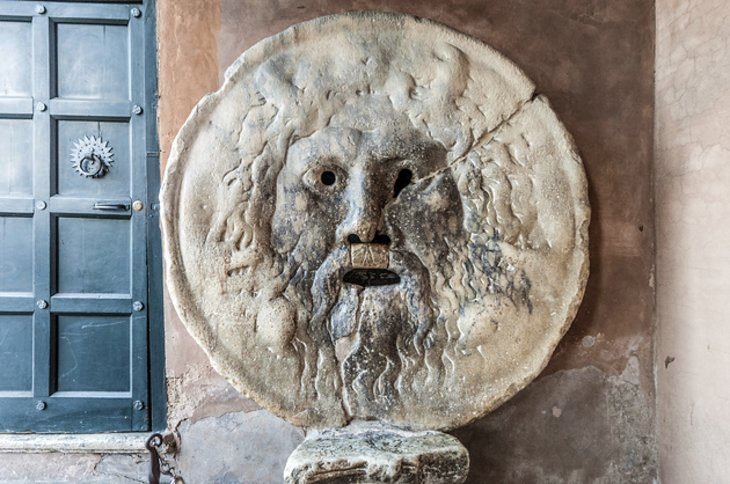 The Mouth of Truth at Santa Maria in Cosmedin