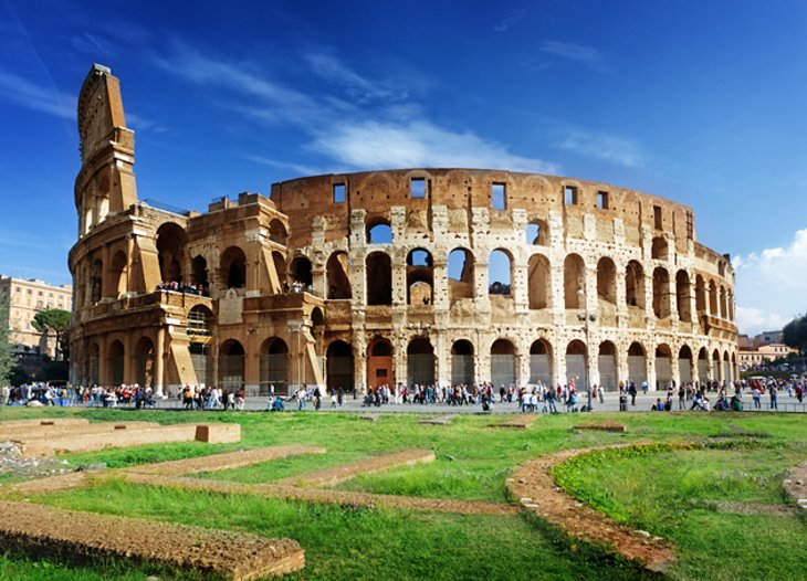 Visiting the Colosseum Highlights Tips and Tours – Rome Tourist Attractions Map