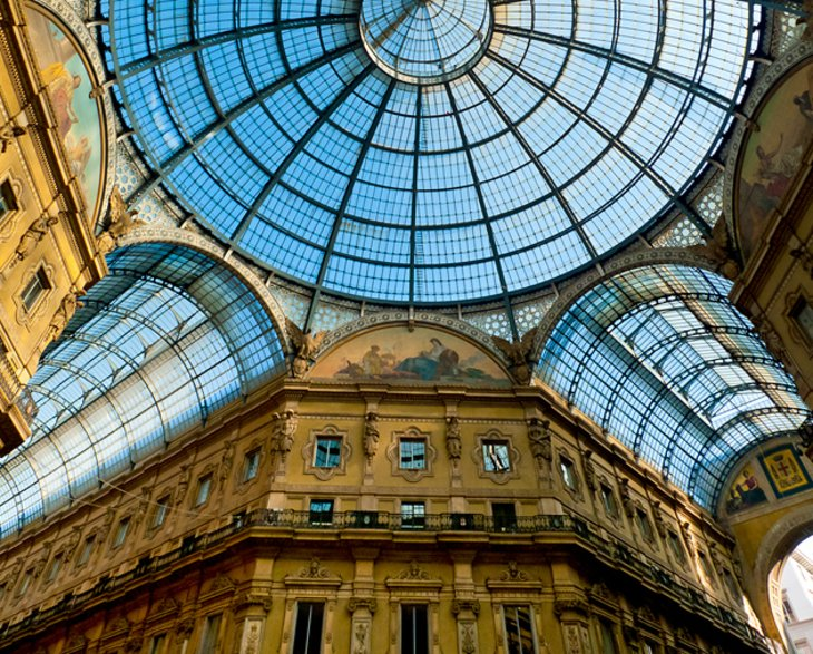 Galleria Vittorio Emanuele II: Luxury Shops and Elegant Cafés