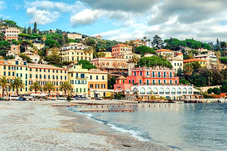 ساحل ایتالیا سانتا Margherita Ligure