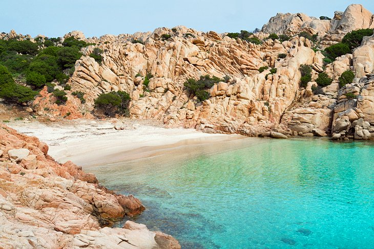 Capo Testa and the Maddalena Islands, Sardinia