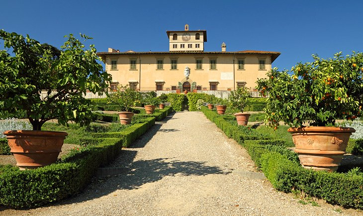 10 top rated day trips from florence planetware for Villa la petraia