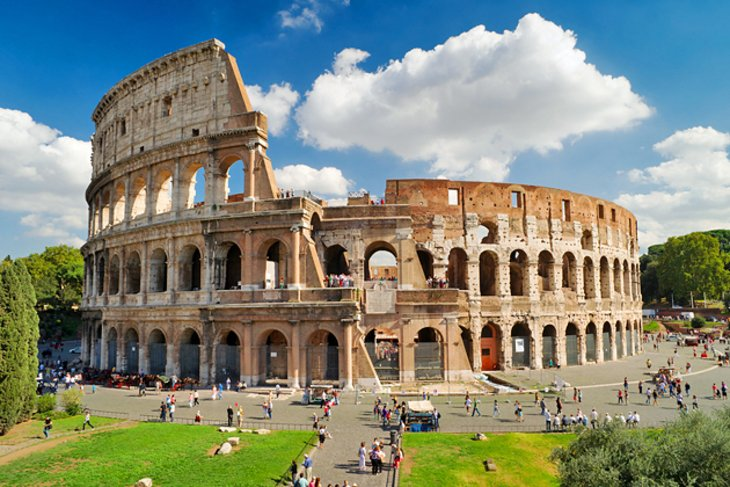 12 TopRated Tourist Attractions in Italy – Rome Italy Tourist Map