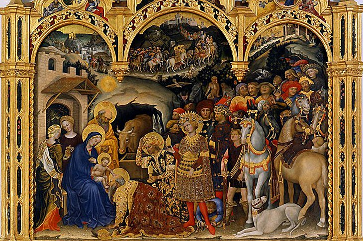 Gentile da Fabriano's Adoration of the Magi