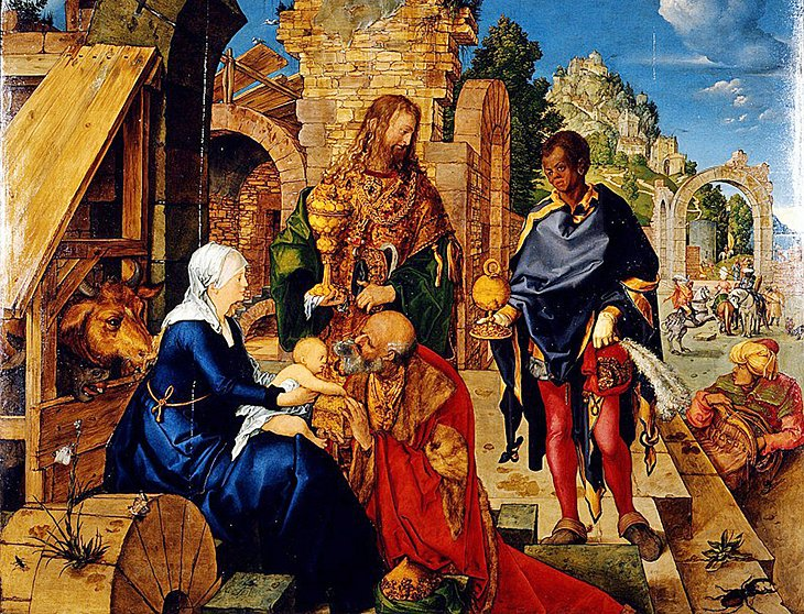 Albrecht Dürer's Adoration of the Magi