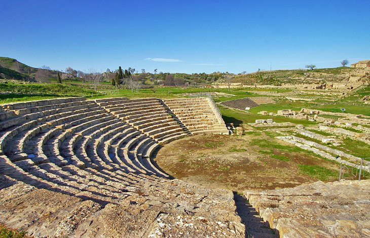 The Archeological Park of Morgantina