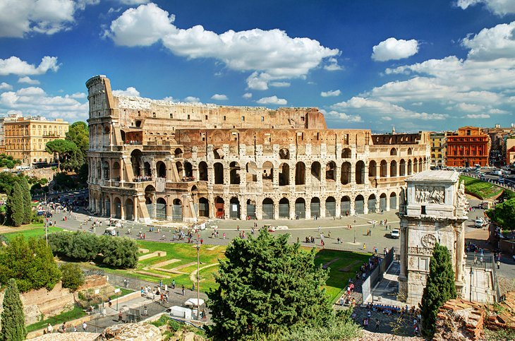 14 TopRated Tourist Attractions in Rome – Rome Italy Tourist Map