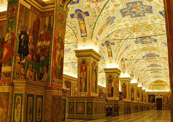 TopRated Tourist Attractions In The Vatican PlanetWare - Holy see map hd