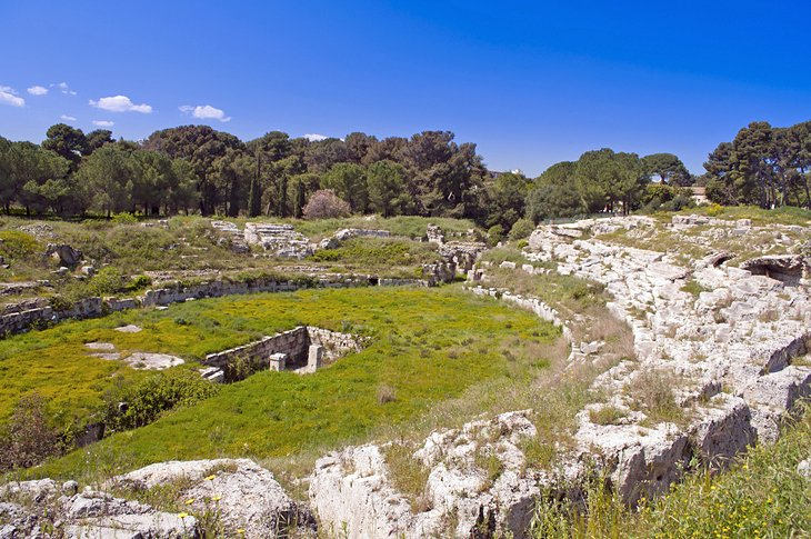 Roman Amphitheater and Altar of Hiero II