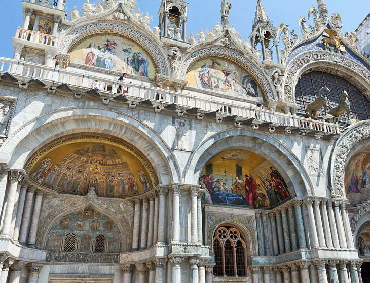 Image result for facade of san marco basilica venice