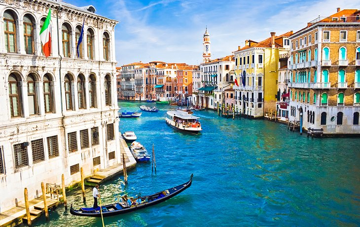 Tour the Grand Canal on the Vaporetto