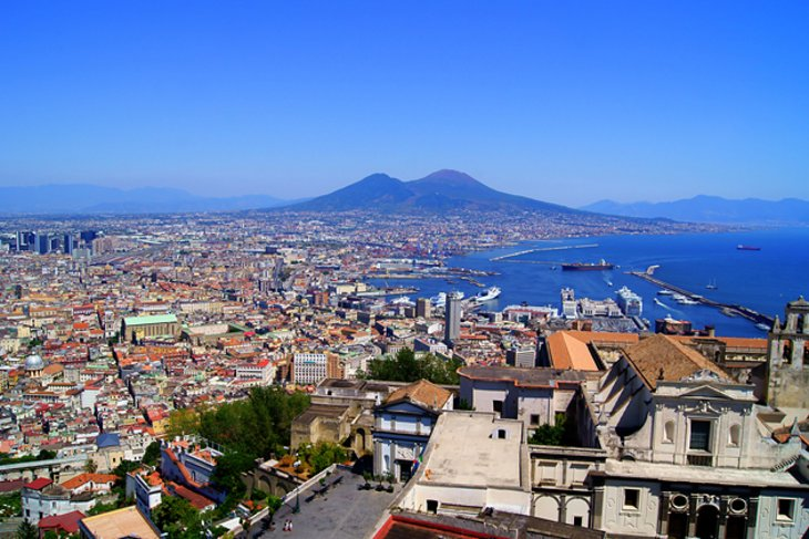 Naples and its harbor