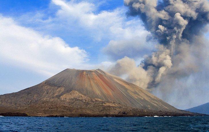 کوه Krakatau