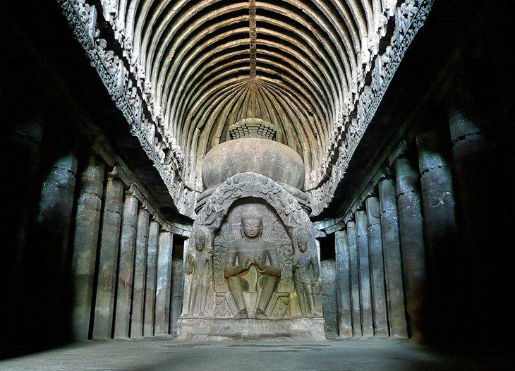 غارهای الورا، اورنگ آباد هند