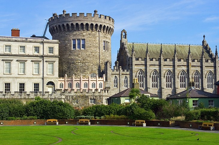 Dublin Castle and the Chester Beatty Library