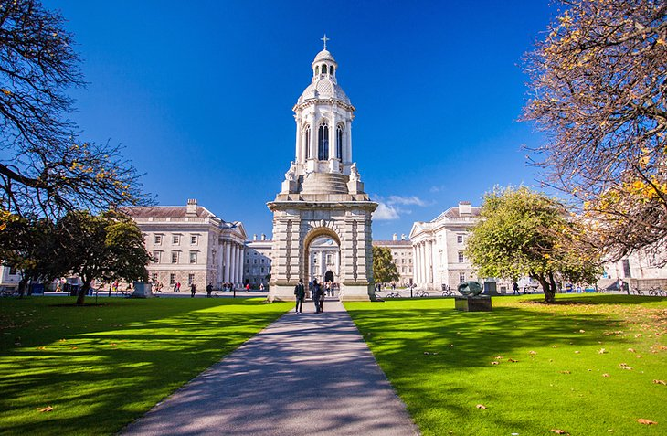 Trinity College and College Green