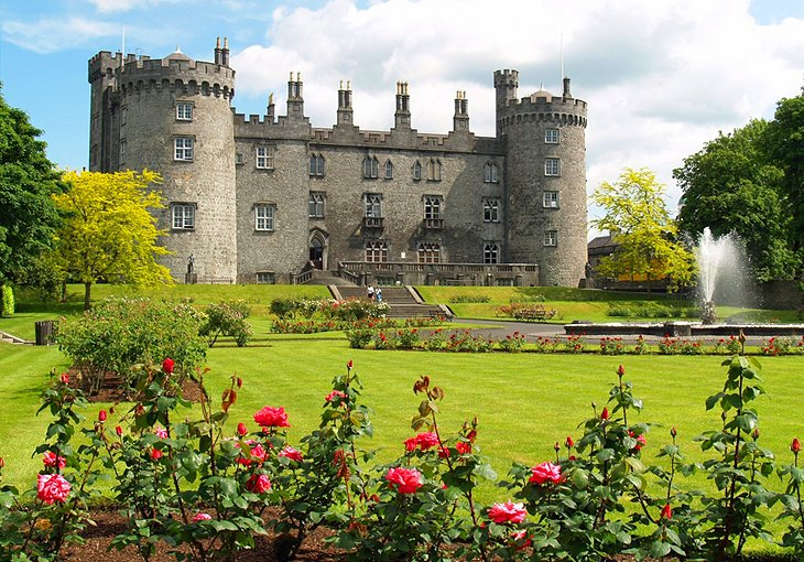 Kilkenny Castle, Rose Garden, and Park