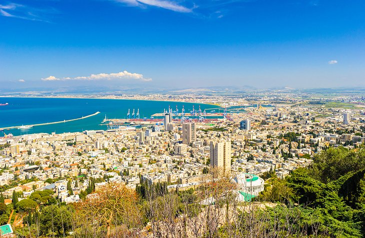 Downtown Haifa