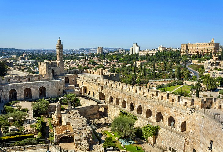 Citadel (Tower of David) and Surrounds